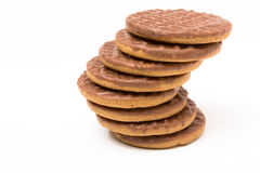 Chocolate Digestive Royalty Free Stock Photography