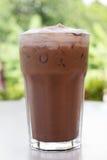 Chocolate do gelo em uma tabela Imagens de Stock