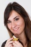 Chocolate do sorriso Imagens de Stock