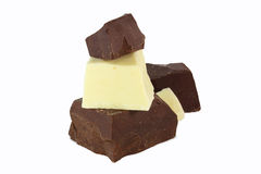 Chocolate doble Imagen de archivo