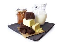Chocolate doble Imágenes de archivo libres de regalías