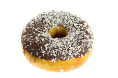 Chocolate donut Stock Images
