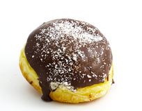 Chocolate donut Stock Image