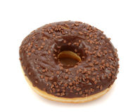 Chocolate donut Stock Photo