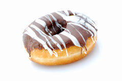 Chocolate donut Royalty Free Stock Image