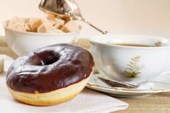 Chocolate donut Royalty Free Stock Image