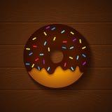 Chocolate donut Stock Photos