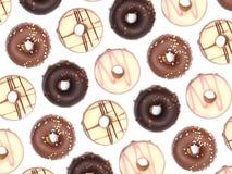 Chocolate Donuts Stock Image