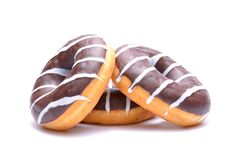 Chocolate Donuts Stock Image