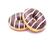 Chocolate Donuts Royalty Free Stock Image