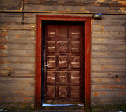 Chocolate doors Royalty Free Stock Image