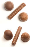 Chocolate dos por cento fotografia de stock royalty free