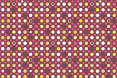 Chocolate dots seamless vector patterns backgrounds stock illustration