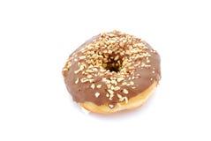 Chocolate doughnut Royalty Free Stock Image