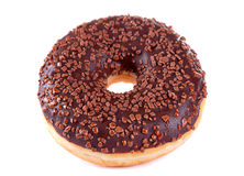 Chocolate doughnut Royalty Free Stock Image