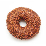 Chocolate doughnut Stock Image