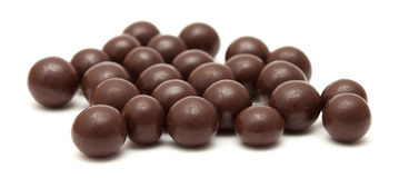 Chocolate dragees Stock Images