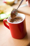 Chocolate drink Royalty Free Stock Photography