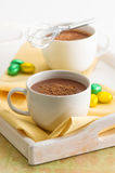 Chocolate Drinks Stock Photos