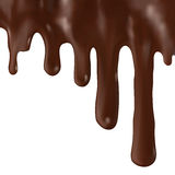 Chocolate dripping Royalty Free Stock Photos