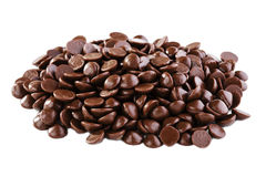 Chocolate drops Royalty Free Stock Image