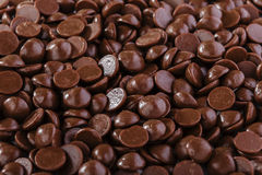 Chocolate drops Royalty Free Stock Photo