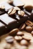 Chocolate e café Foto de Stock