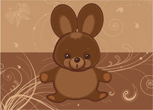 Chocolate Easter Bunny Royalty Free Stock Photo