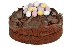 Chocolate Easter Cake Royalty Free Stock Photo