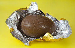 Chocolate Easter Egg Royalty Free Stock Photos