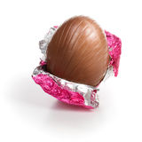 Chocolate Easter egg Stock Image