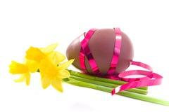 Chocolate easter egg Stock Image