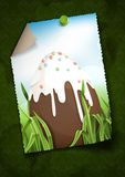 Chocolate Easter Egg. Stock Photography