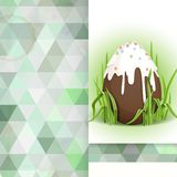 Chocolate Easter Egg. Royalty Free Stock Photography