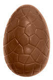 Chocolate easter egg isolated Royalty Free Stock Image