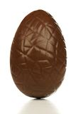 Chocolate Easter egg isolated stock photos