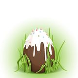 Chocolate Easter Egg. Royalty Free Stock Photos