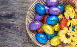 Chocolate Easter Stock Photo