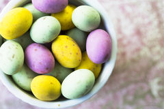 Chocolate Easter Eggs Royalty Free Stock Image
