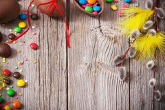 Chocolate Easter Eggs Stock Photos