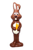 Chocolate Easter rabbit Stock Photo