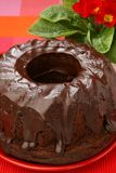 Chocolate eastern cake Royalty Free Stock Images