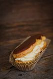 Chocolate eclair Royalty Free Stock Images