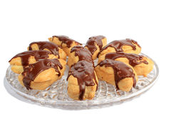 Chocolate Eclairs Royalty Free Stock Image