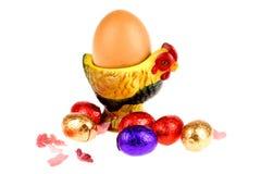 Chocolate egg Stock Photography