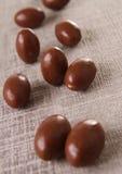 Chocolate egg Stock Photos
