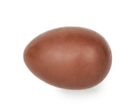 Chocolate egg Royalty Free Stock Images