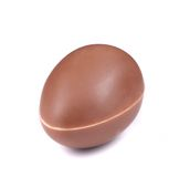 Chocolate egg laying Stock Photography