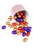 Chocolate-eggs Stock Photography