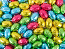 Chocolate eggs Royalty Free Stock Photo